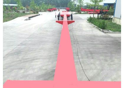 Extendable trailers/extendable flatbed blade trailer testing & delivery
